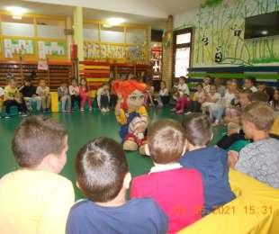 Љубица у посети предшколцима