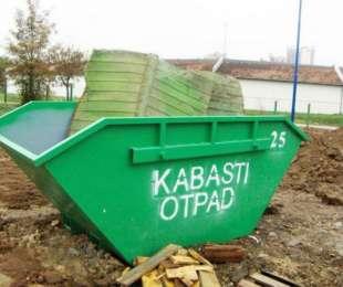 План постављања контејнера за одлагање кабастог отпада - пролеће 2019. године