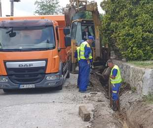 Реконструкција водводне линије у улици Кнеза Лазара